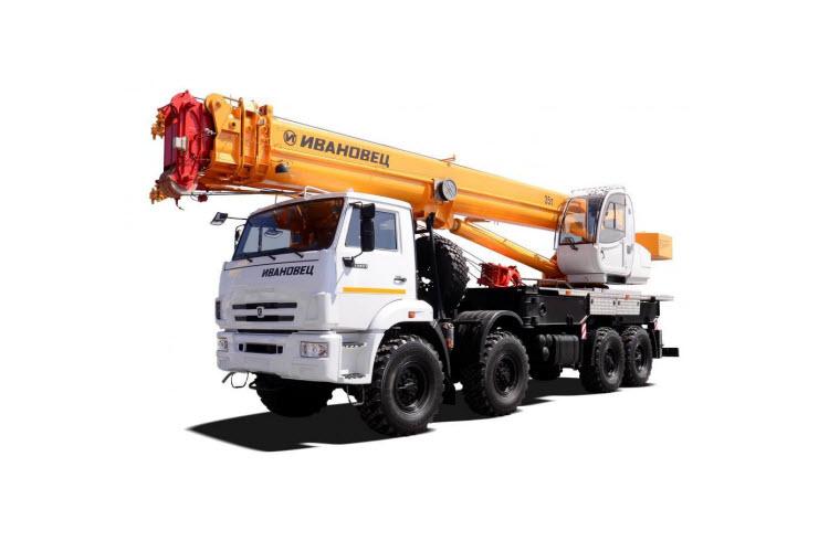 Картинка автокран 35 тонн