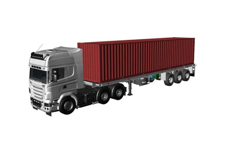 Картинка контейнеровоз 40 футов