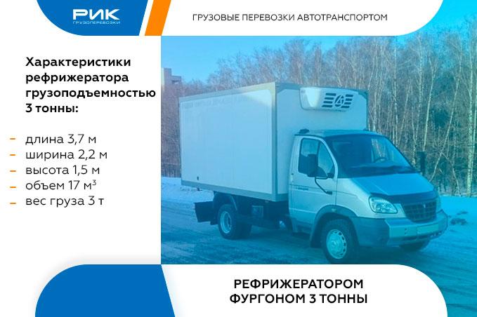 Картинка междугородные перевозки рефрижератор 3 тонны